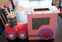 Valentine's box ideas! / by Jennifer Harbert