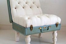 suitcase chair