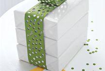 DIY gift bags- boxes