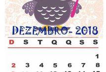 Calendário de Corujas