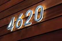 House number ideas