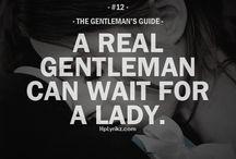 Gentleman guide / Gentleman guide