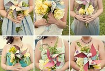 Pretty Wedding Bouquets / If you love flowers then you will love this board. I can just about smell the scent of the blooms.