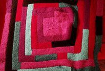 loom knitting blanket