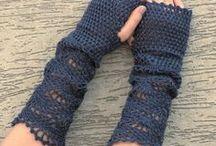 crochet gloves cuffs