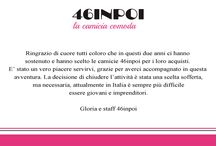 46inpoi startup company closed down. Thank you. / La startup 46inpoi chiude. Grazie a tutti.  46inpoi startup company closed down. Thank you.