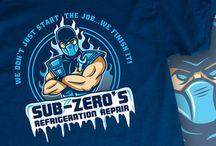 Mortal Kombat T-Shirts