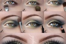 Eye makeup tutorials and looks / Tutorials for eye makeup and different looks to try!