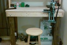 Reloading and shooting bench
