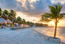 Cancun / Visit Cancun, located on the northeast coast of the Yucatán Peninsula. From family-friendly resorts to romantic adults-only hideaways, you're sure to find a beautiful white sand beach to call your own.  / by Expedia