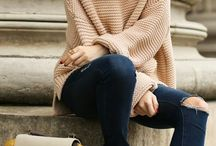 knitted and jeans