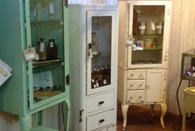 Medical Cabinets for Curiosities / All vintage medical cabinets / by Lea Fabryk
