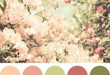 paletas cores casamento