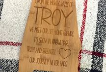 Troy Trojan Gifts / Looking for a perfect gift to help someone show their Trojan Warrior Spirit? We've got tons of great ideas for you!
