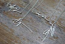 initials jewellery