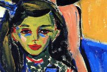 Modern Art - Expressionism / Expressionism was a modernist movement, initially in poetry and painting, originating in Germany at the beginning of the 20th century. Its typical trait is to present the world solely from a subjective perspective, distorting it radically for emotional effect in order to evoke moods or ideas. Expressionist artists sought to express meaning or emotional experience rather than physical reality.  http://en.wikipedia.org/wiki/Expressionism