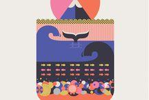 Graphic Illustration / by Cecilia Fletcher