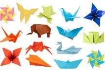 Papír - Origami, Papírhajtogatás