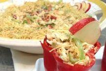 saladas simples