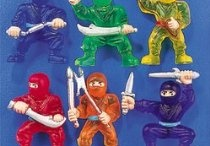 (Mainly) action figures (mainly) for kids