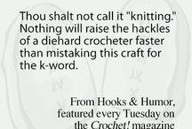 Crochet Commandments