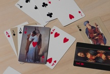 Carte di Brera / Playing cards, a deck having all the picture cards replaced with portrayals from the Pinacoteca di Brera (Milan) gallery's works. By Donata Paruccini