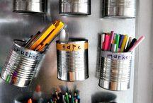 · Organization ideas ·
