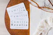 My Work - Images de Marque - Corporate / Reportage au coeur de l'atelier de la créatrice de robes de mariée CamilleRecolin, alias LesFrangines. Une entrepreneuse de talent basée sur Nîmes, dans le Gard.