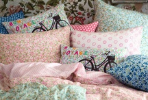 Cushions and Such / I've always had a fetish for cushions to accesorize the family room and bedroom.  I even change them with the seasons for a quick redecorate. / by Bev Audet