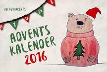 ideas4parents Adventskalender / Tolle DIY Ideen, Rezepte, Tipps und mehr rund um Weihnachten mit der Familie.
