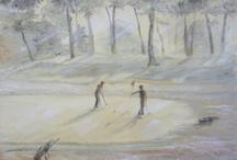 My golf paintings / by Varga Emi