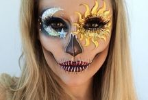 Make-up for Halloween