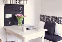 Ideen / Some ideas for decorating and organising