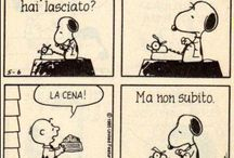 Snoopy & Mafalda / The thin line between humor and cinism...