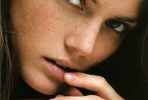 freckles / photo inspiration for freckled faces
