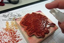 Stampin techniques