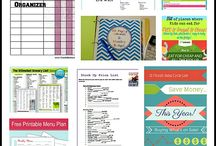Printable charts stationery