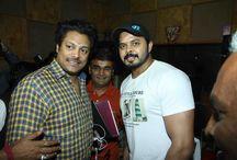 Woh Kaun Thi / Cricketer S Sreesanth at the song recording of film Woh Kaun Thi in Mumbai.