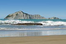 Waimarama Beach & Bare island
