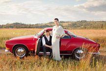 Volkswagen Karmann Ghia. / La wedding car rappresenta un dettaglio importante nella pianificazione del matrimonio: sarà utilizzata dalla sposa per viaggiare dalla casa alla chiesa e dai novelli sposi da casa al ricevimento. Una vettura impeccabile renderà il matrimonio ancora più magico.
