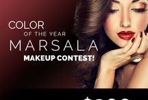 BH Cosmetics | Marsala Makeup Contest 2015 / Last day to enter is Wednesday, May 13th. Enter here: http://bit.ly/1FlUn0t  / by BH Cosmetics
