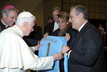 Udienza dal Papa / Lazio calcio femminile dal Santo Padre