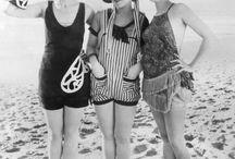 trajes  de baño años 20