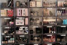 Orginize makeup