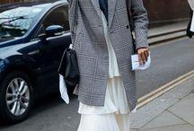 Grey oversized jacket