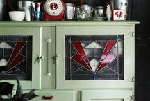retro kitchen dressers
