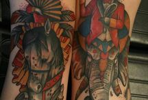 Tattooed freaks!!!   (That's a good thing) / by JoLisa Coffey