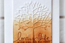 Cards - Autumn / Handmade cards with an Autumn theme.