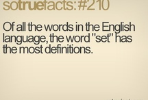 Interesting language facts / Interesting facts about the English Language