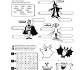 Halloween resources for English lessons
